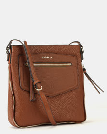 Fiorelli Chester Crossbody Bag Tan Black  b3eea98b723f5