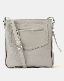 Fiorelli Faith North/South Crossbody Steel Bag Grey