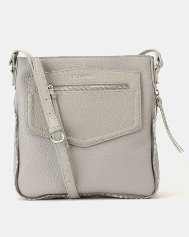 Fiorelli Faith North/South Crossbody Steel Bag Grey