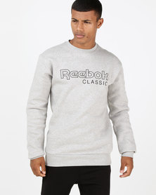Reebok Fleece Classics Crewneck Grey
