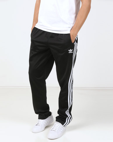 ae8fe8cd9260 adidas Originals Mens Firebird Track Pants Black