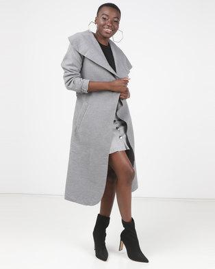 Utopia Melton Coat Grey