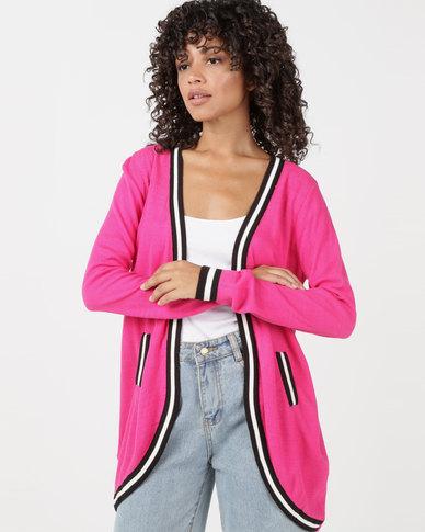 Utopia Knitwear Cardigan Pink