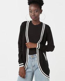 Utopia Knitwear Cardigan Black