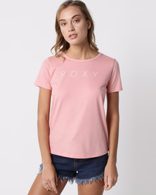 Roxy Red Sunset T-Shirt Coral