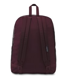 JanSport High Stakes Backpack Russet Red Rose Gold