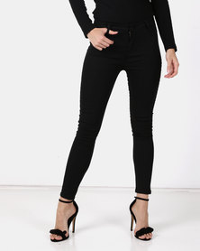 Utopia Basic Skinny Leg Jeggings Black