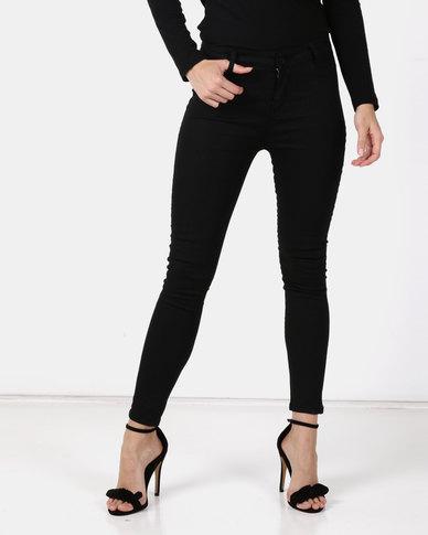 Utopia Basic Skinny Leg Jeggings Black