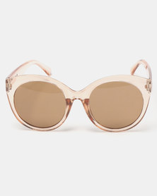 You & I Audrey Sunglasses Trans Caramel