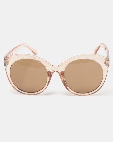 You & I Audrey Sunglasses Trans Caramel