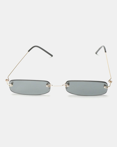 You & I Belle Sunglasses Silver Smoke