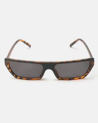 You & I Trendy Sunglasses Tort Ombre