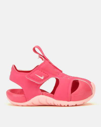 ed4f322dd316 Nike Sunray Protect 2 Pre-School Shoes Pink