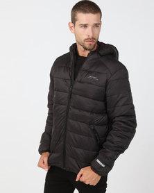Bellfield Hooded Puffer Jacket Black