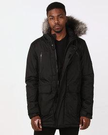 D-Struct Artic Parka Jacket Black