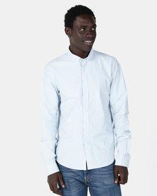 Smith & Jones Corwin Long Sleeve Shirt Blue