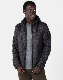 Smith & Jones Gulden Quilted Jacket Black