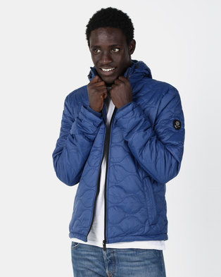 Smith & Jones Gulden Quilted Jacket Navy
