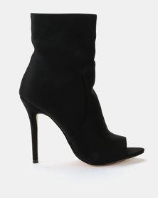 Public Desire Saskia Ankle Boots Black