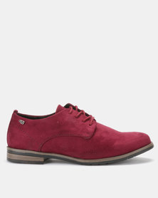 Miss Black Alpha Slip On Shoes Burgundy