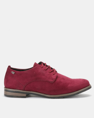 9a690e2cce0 Miss Black Alpha Slip On Shoes Burgundy