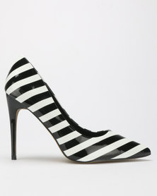 ​Dolce Vita Symmetry Court Heels White/Black