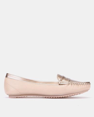 Salta Slip On Shoes Rose Gold