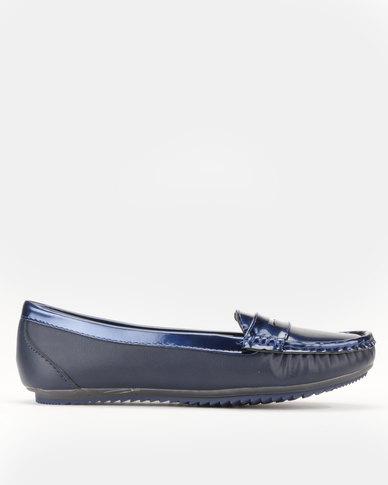 Dolce Vita Salta Slip On Shoes Navy