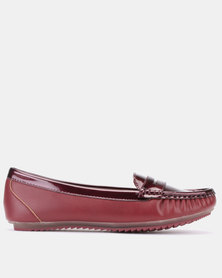 Dolce Vita Slip On Shoes Burgundy