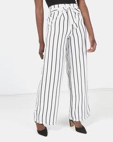 Legit Stripe Wideleg Pants Multi