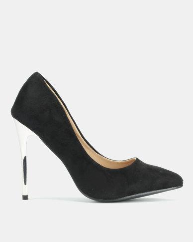 Legit Pointy With Metal Heels Black