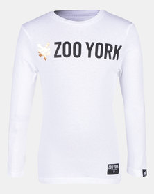 Zoo York Longsleeve Tee White