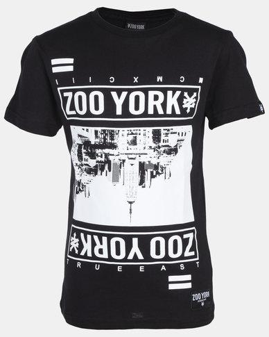 Zoo York Boys Tee Black