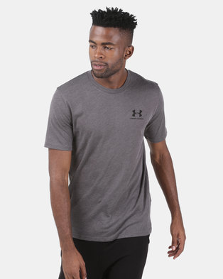 Under Armour Sportstyle Left Chest Tee Grey 0ca593010