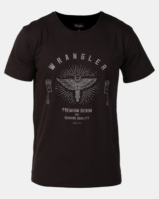 Wrangler Need For Speed T-Shirt Meteorite