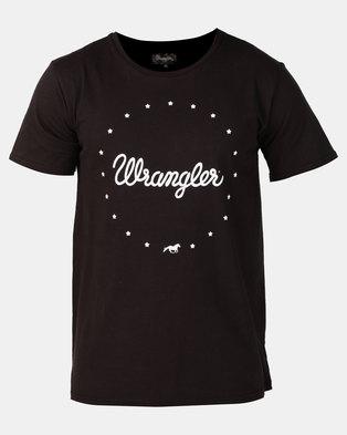 Wrangler Stary Lights T-Shirt Meteorite