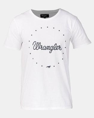 Wrangler Stary Lights T-Shirt White