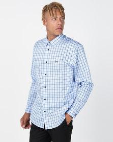 JCrew Over Check Shirt Lt. Blue/Navy