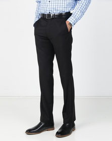 JCrew Flat Front Trousers Black