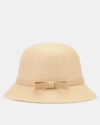 You & I Felt Bucket Hat Natural
