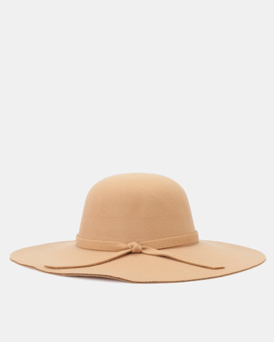 You & I Felt Floppy Hat Tan