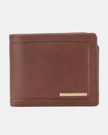 Billabong Scope 2 In 1 Wallet Brown
