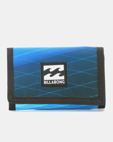 Billabong Atom Trifold Wallet Blue