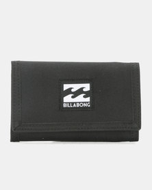 Billabong Atom Trifold Wallet Black