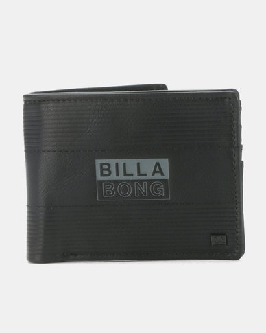 Billabong Junction Flip Wallet Black