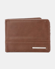 Billabong Dimensions Solid Wallet Brown