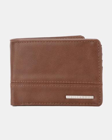 Billabong Dimensions Solid Wallet Brown
