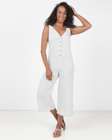 Billabong No Wave Jumpsuit Cool Whip