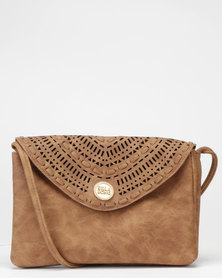 Billabong On Track Festival Purse Tan