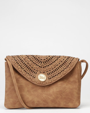 9e6402a2f6 Billabong On Track Festival Purse Tan